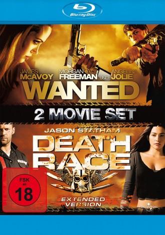 [Media-Dealer] Wanted & Death Race - 2 Movie Set (Blu-ray) für 6,98€ inc. Versand