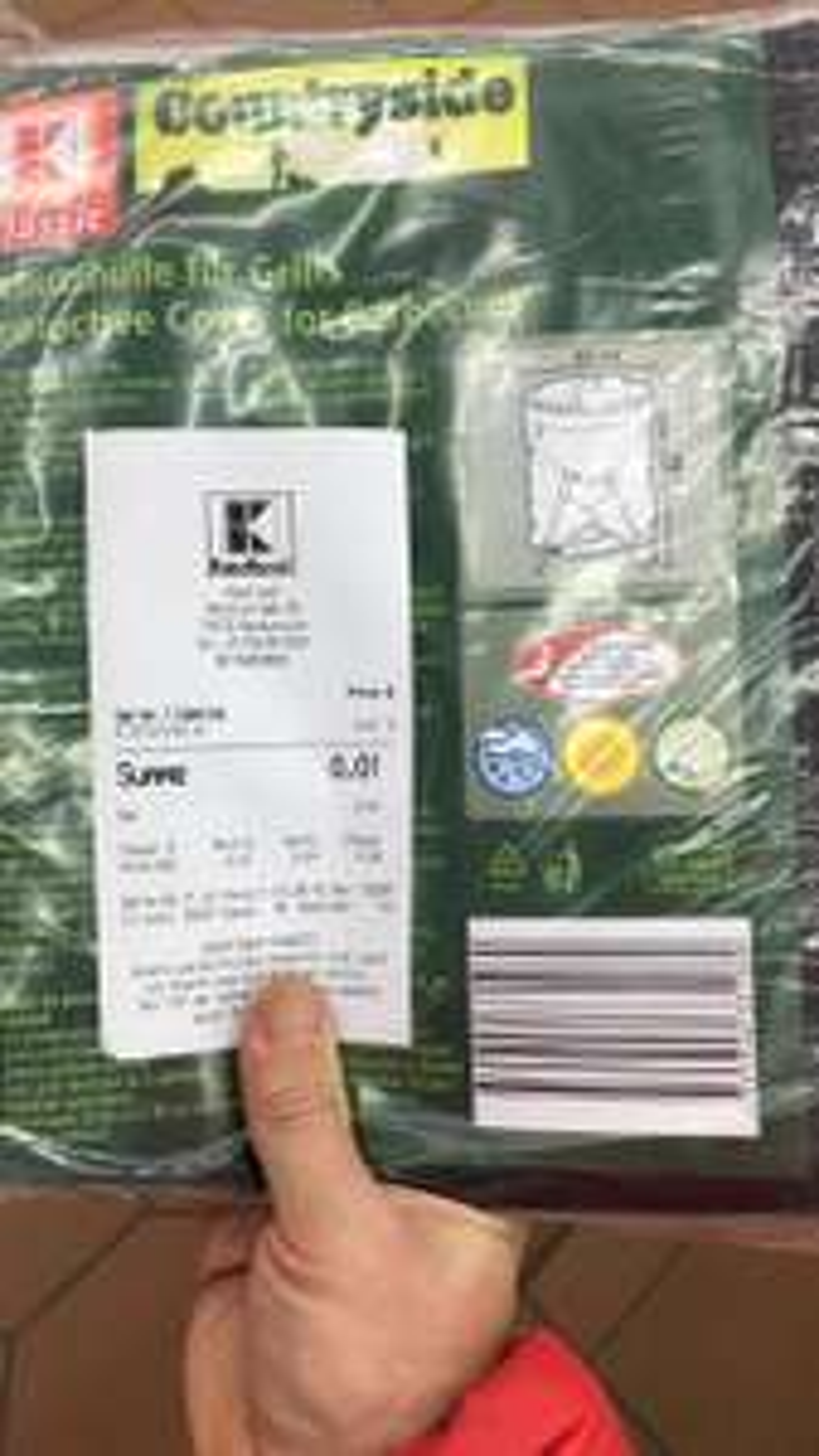 Schutzhülle für Grill (rund) anstatt 5,99€ nur 0,01€ ! Kaufland Neckarsulm
