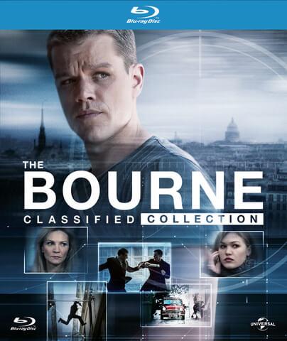 The Bourne Classified Collection Digibook Blu-ray z.T mit dt. Ton (Zavvi)