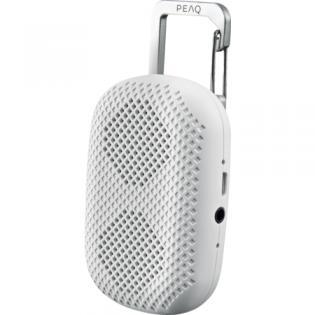 PEAQ PPA10BT-W Bluetooth-Lautsprecher Weiß --> 7 € inkl. Versand --> statt  14,99 €