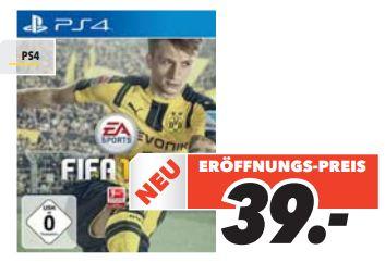 [Lokal Medimax Arnstadt, Saalfeld und Unterwellenborn] Fifa 17 (Playstation4) für 39,-€