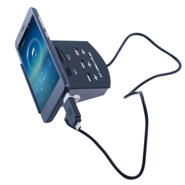 USB Hub/ muliti-port Kartenleser für Smartphone/ PCs,... aliexpress