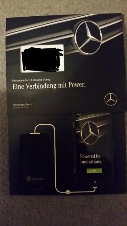Kostenlose Power Bank von Mercedes