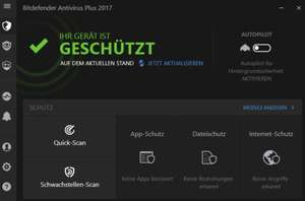 Bitdefender Antivirus/Security/Total 2017 mit je -50%