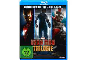 Iron Man Trilogie (Bluray) für 8,90€ [Mediamarkt + Amazon]