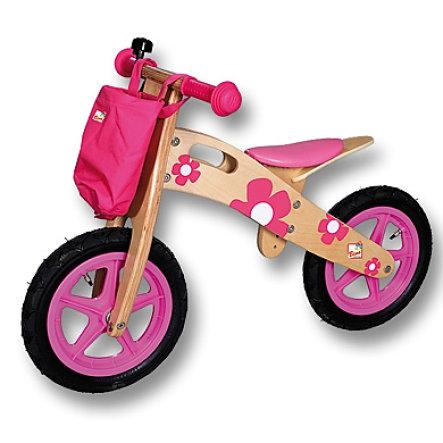 Bino Holz-Laufrad mit Lenkertasche und Klingel für 40€ bei [Babymarkt]