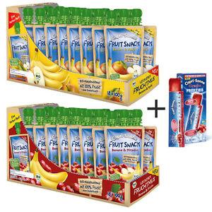 2x Capri Sonne FRUIT SNACK + 1x FREEZIES Banane & Apfel / Kirsche Fruchtmus  11,95