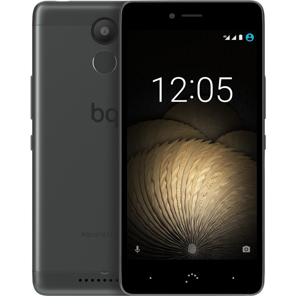 "BQ Aquaris U Plus 16GB intern, 2GB RAM Schwarz/Grau [12,7cm (5"") HD-Display, Android 6.0.1, 1.4 GHz Octa-Core CPU Snapdragon 430, Fingerprint, 16MP Kamera, Hybrid Dual-SIM] für 189,55 € > [Rakuten.de]"
