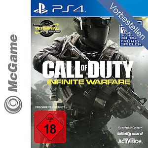 [ebay] Call of Duty: Infinite Warfare [PS4] im ebay WOW Deal für 54,89 VERSAND HEUTE