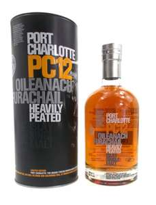 Bruichladdich PC12 (Port Charlotte) 58,7% Single Malt Scotch Peated
