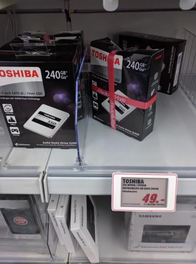 Toshiba q300 240 GB SSD (lokal MM Berlin Steglitz)