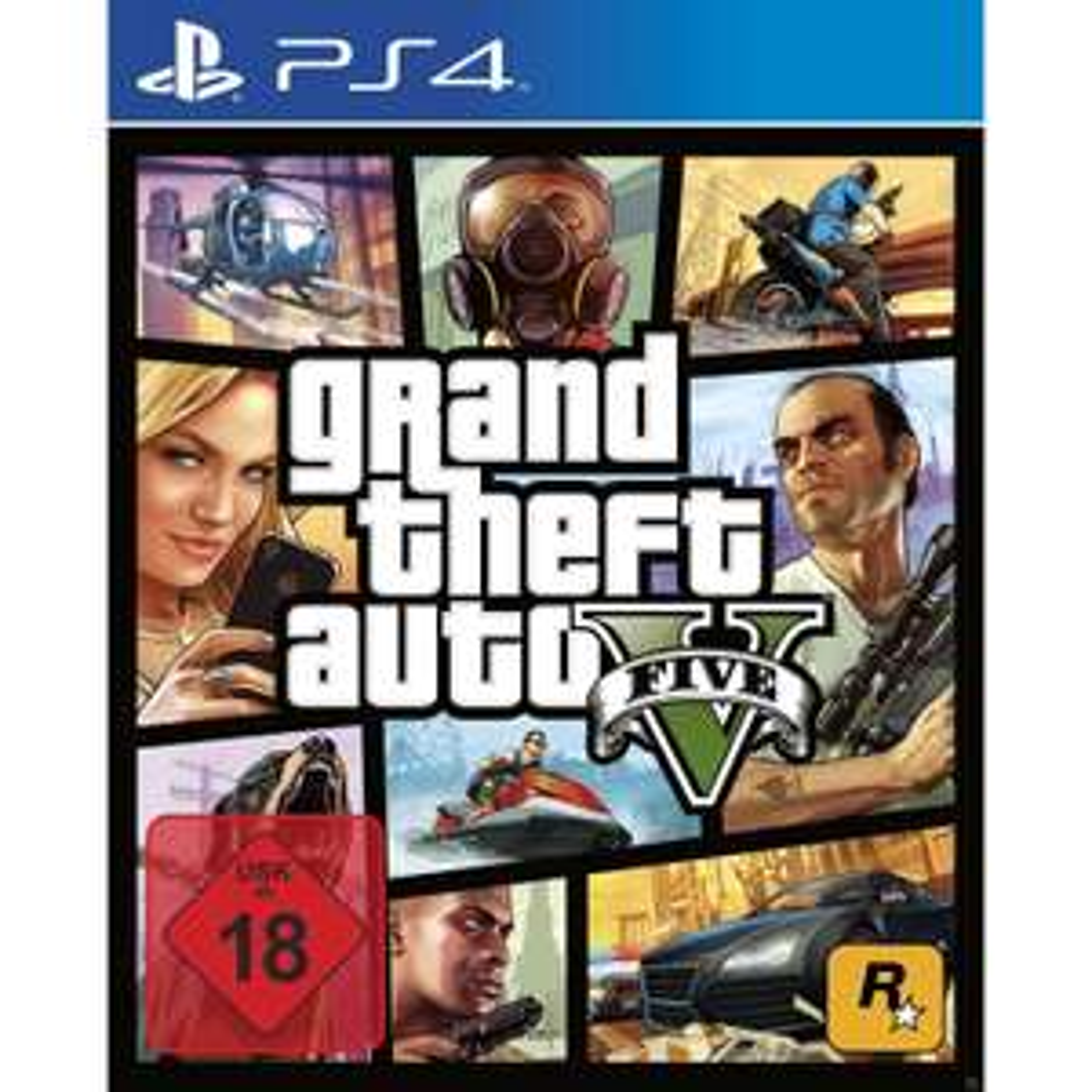 [eBay] [MediaMarkt] GTA 5 - Grand Theft Auto V [PlayStation 4] für 39,00€ mit Click&Collect