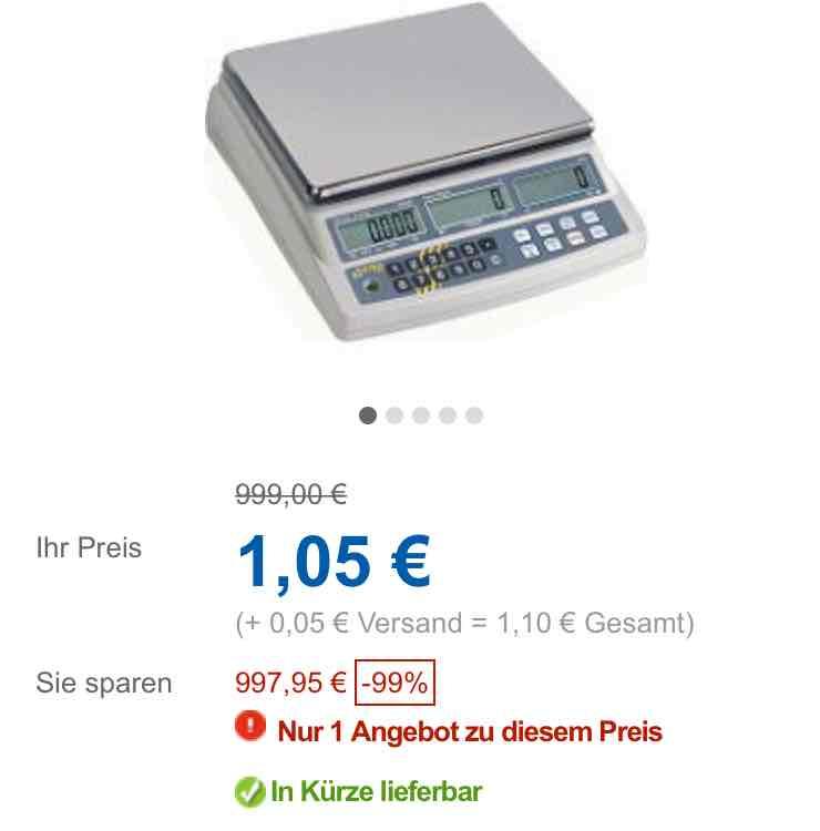 Kern Küchenwaage idealo 168,98€