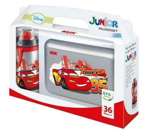 Pausenset Disney Cars oder Princess (Junior-Cup-Flasche + Brotdose) für 7,85€ im NUK-Shop (mit 5€-Gutschein)