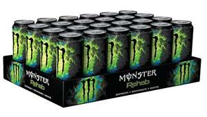 Monster Rehab Green Tea, 24x500ml, 24er Pack  22,80 € im Spar Abo