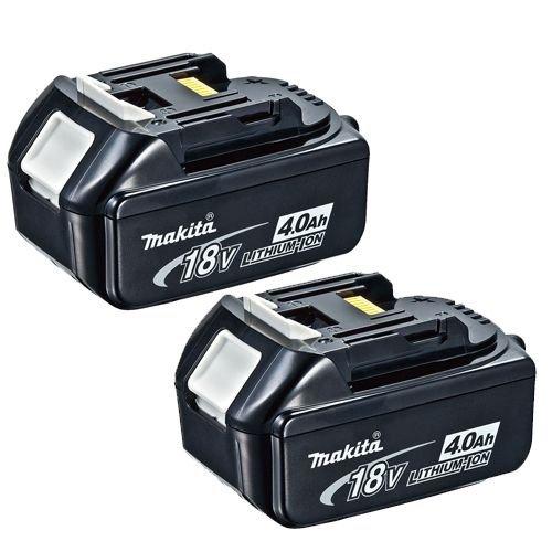 [Amazon.co.uk] Makita BL1840 18V Akku-Doppelpack für ca. 90,54 €