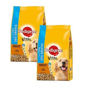 Pedigree Adult mit Geflügel 15kg+5kg Gratis Hundefutter Trockenfutter für 24,99€ @ebay.de (Zooroyal)