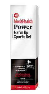 [Rossmann] Men's Health Power Warm Up /Cool Down Sports Gel (1 x 150 ml) +10% Coupon 1,79