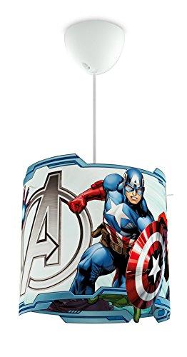 [Amazon Plus Produkt] Philips Marvel Avengers Pendelleuchte, blau 717513516
