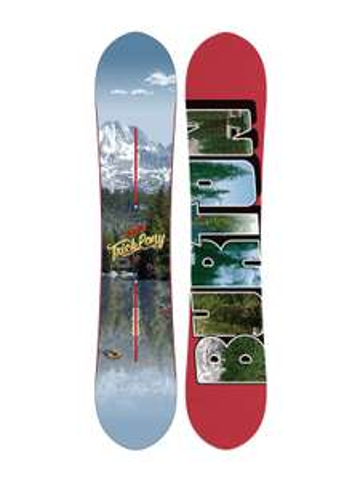 Snowboard - Burton Trick Pony (B-Ware/2nd) 2015 - 158cm