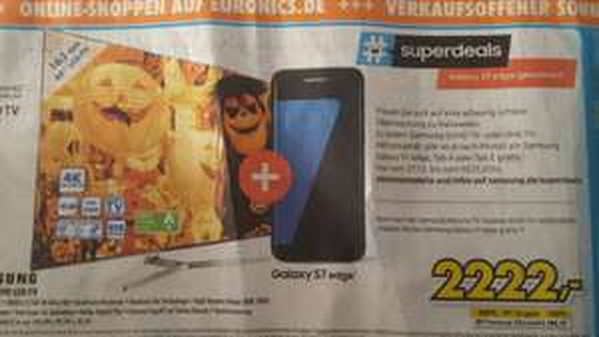 Samsung 65ks8090 + Samsung S7 edge
