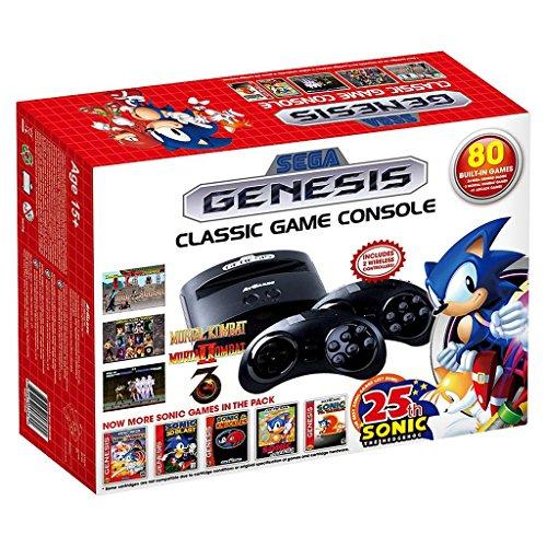 [ amazon.de ] Sega Retro-Klassik Spielekonsole inklusive 80 Spiel anthrazit