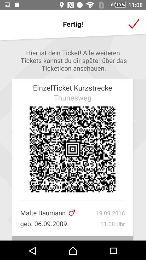 Kostenlos in Düsseldorf Bus & Bahn fahren