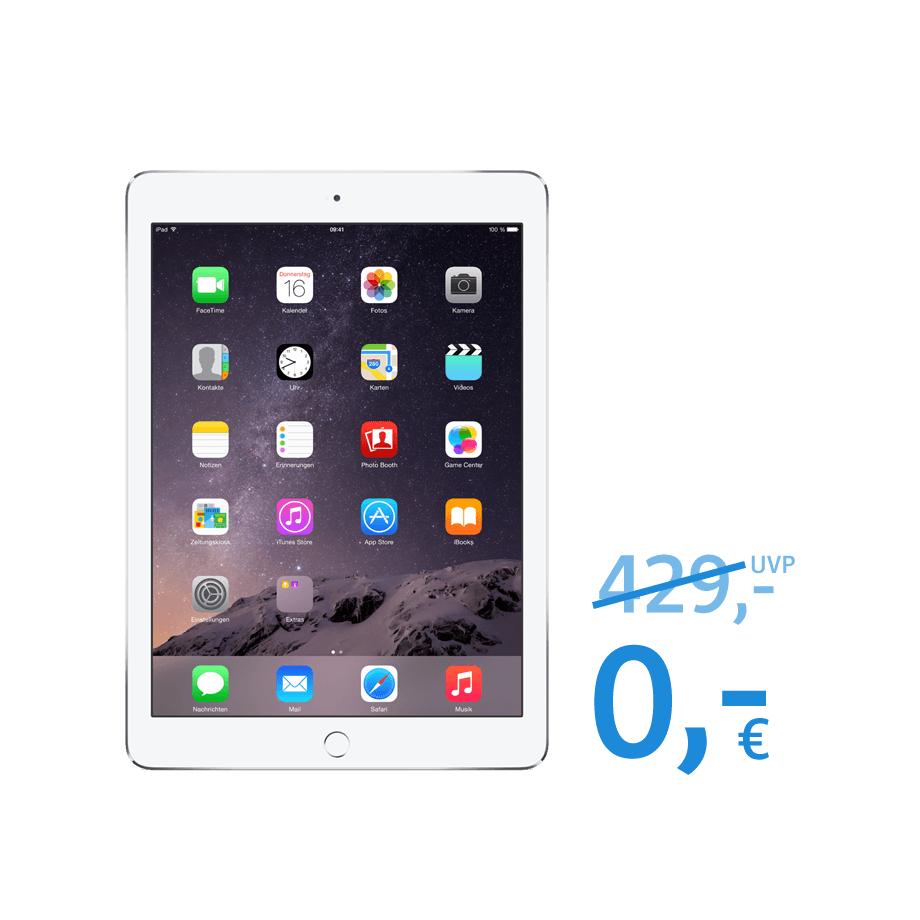Apple IPad Air 2 (32GB) als Prämie bei WEB.DE