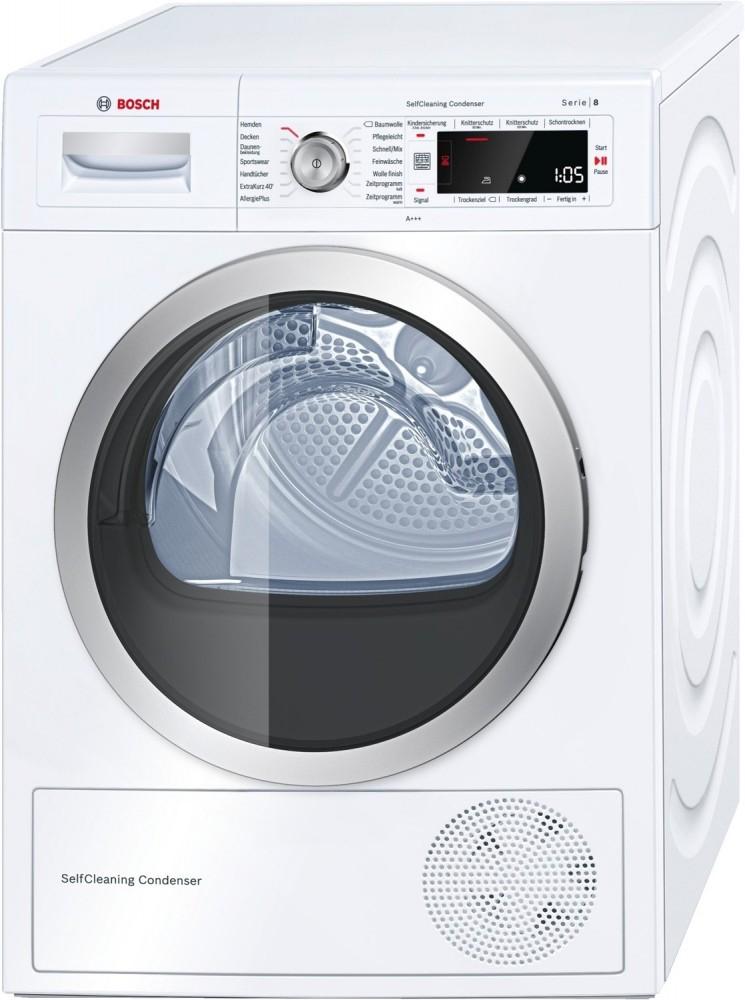 Bosch WTW 875W0 Wärmepumpentrockner weiß EEK: A+++ Goodprice 586,64 + 3445 Superpunkte = 34,45 €