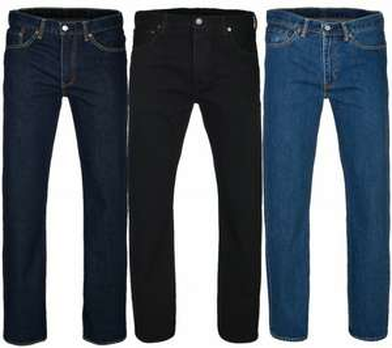 Levi's Jeans 3 Modelle Größe w34 bis w42 für 34,99 bei Outlet46