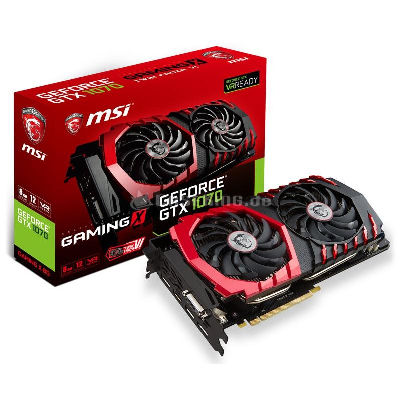 [Rakuten.de] MSI GeForce GTX1070 Gaming X 8G 8GB