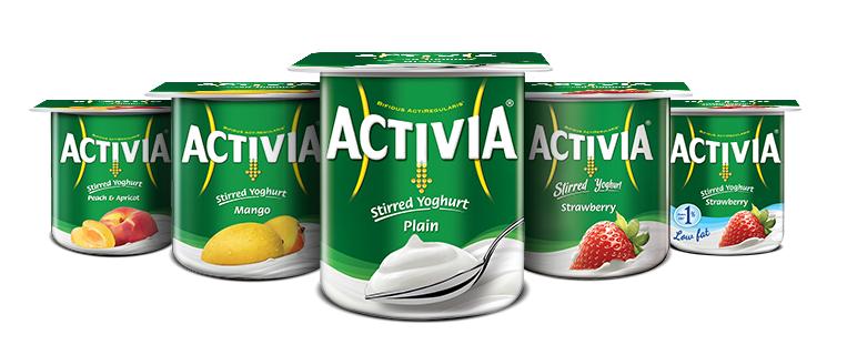 Danone Activia Fruchtjoghurt versch. Sorten 4x120g (480g) / 6x120g (720g) für 0,61€ bei Real ab 07.11.16