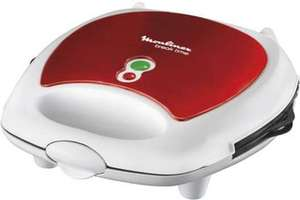 "Moulinex Sandwich-Maker ""SW 6125"" Red Ruby für 25€ [Rewe Center]"