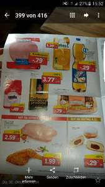 Lidl Bielefeld-Hillegossen Detmolderstr Apfelschorle 29cent.zucker 1 kg 49cent.10 eier 79 cent alles -10%