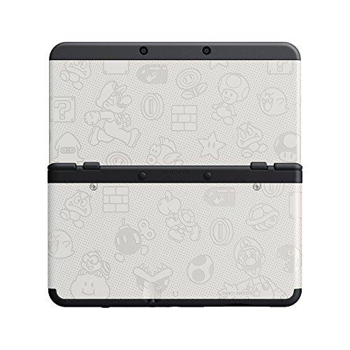 [Prime] New Nintendo 3DS Zierblende 012 (Mario World Weiss)