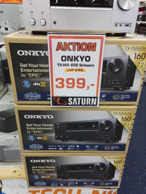 [Lokal Saturn Essen] Onkyo TX-NR656