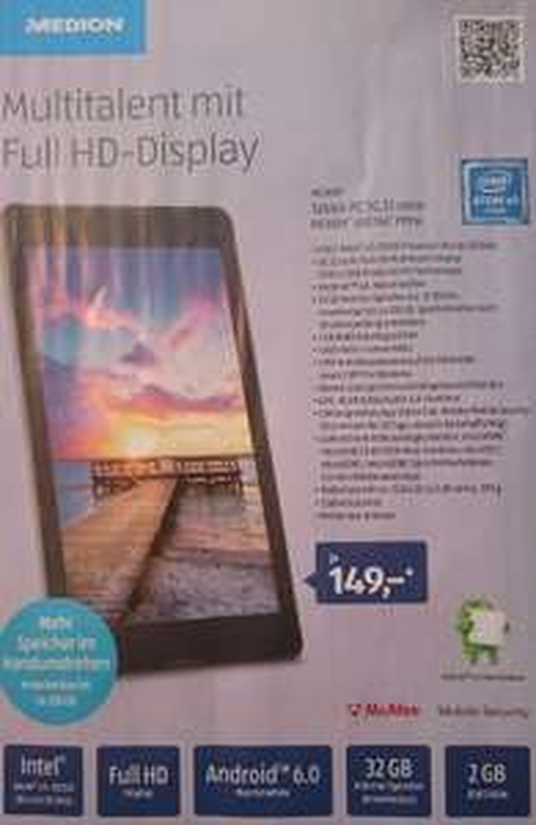 "Medion Tablet 8"" P8514 ab 17.11. bei Aldi Süd"
