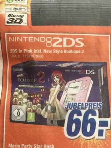 Nintendo 2ds mit New Style Boutique 2 Expert Klein für 66€