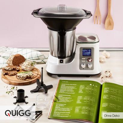 Aldi Nord -  ab 07.11.16 Küchenmaschine mit Kochfunktion von der Marke QUIGG®
