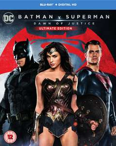 [O-Ton] Batman v Superman: Dawn of Justice 2 x Blu-ray für 11.49€ @ Zavvi