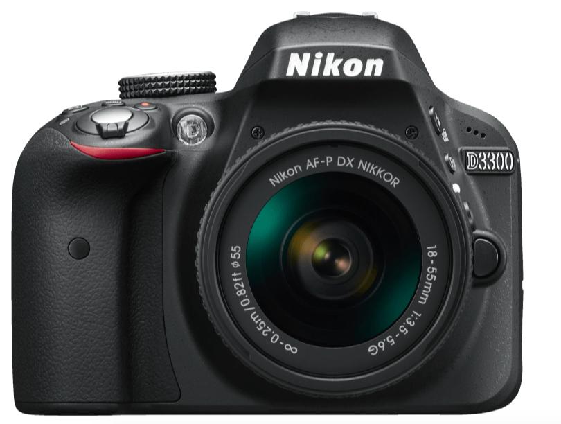 Nikon D3300 Kit 18-55 mm schwarz