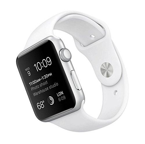 Apple Watch 42mm Series 1 in Silber/Weiß zum Knallerpreis bei Amazon