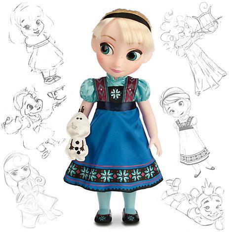 10% auf alles im [Disney Store] z.B. Animators Collection Elsa Puppe für 22,25€ + VSK