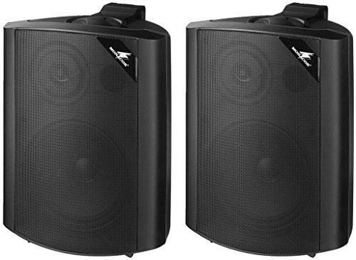 MONACOR EUL-60/SW ELA Universal Lautsprecherbox-1 Paar schwarz  EUR 51,64 inkl. Versand @amazon.de