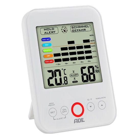 [real] Schimmelalarm Taupunktmesser mit LED-Warnleuchte, Batterielaufzeit > 2 Jahre! Online +4,95 € VSK
