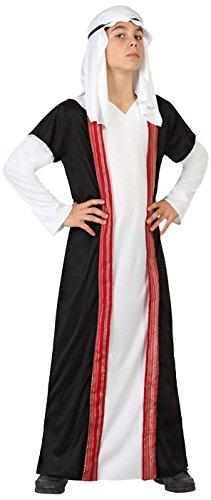 Atosa 23658 - Araber Junge Kostüm, Größe 128, schwarz/weiß für 2,45€