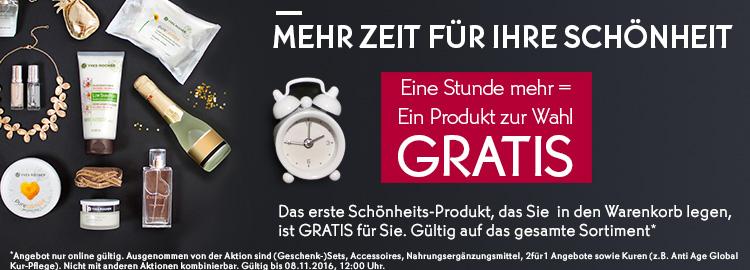 [Yves Rocher] Erstes Produkt im Warenkorb gratis (egal wie teuer) // versandkostenfreie Lieferung ab 20€ + 5€ Newsletter Gutschein ab 25€