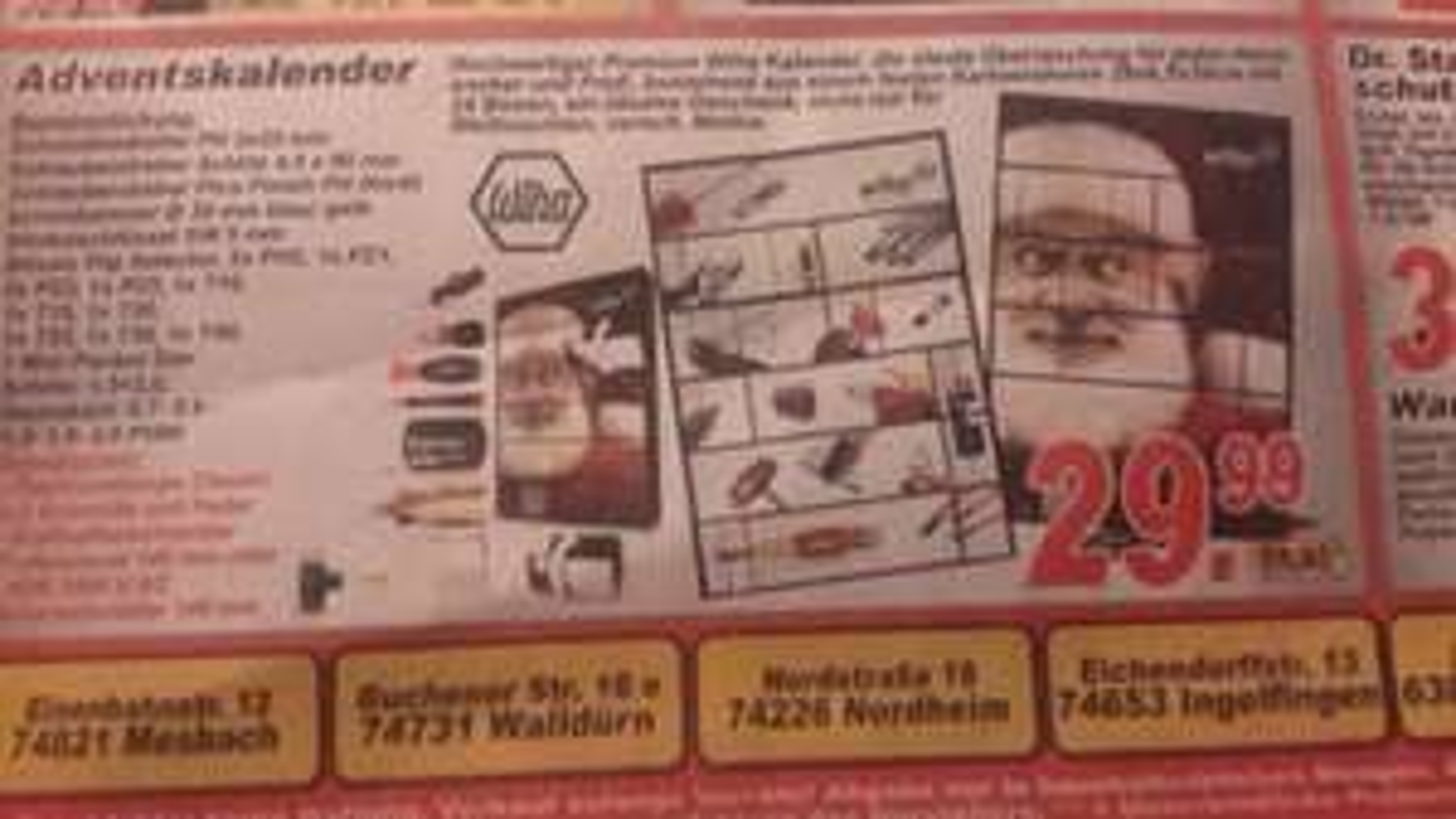 SOPO Markt -- wiha Adventskalender