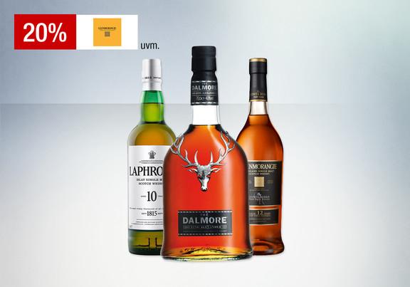Galeria Kaufhof nur heute gültig: 20% Rabatt auf Whisky