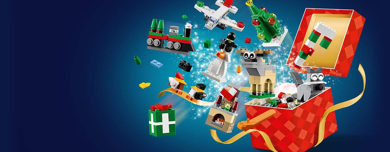 [LEGO STORE] Lego Set 40222  (24-In-1 Weihnachstspaß) gratis ab 65,- € Bestellwert